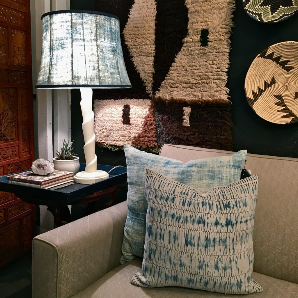Indigo L&shade & Make Your Lampshades a Part of Your Interior Design - House of Cindy
